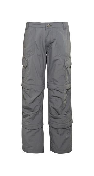 Maier Sports Trizip Reg lange broek grijs